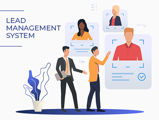 Lead management software system