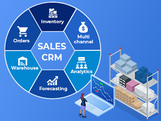 Sales crm software Development Company