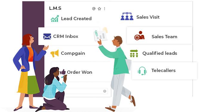 Lead management software development services