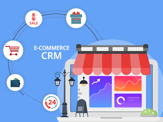 Ecommerce CRM Software Development